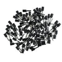 Aderendhülsen 1,50mm² (schwarz), isoliert, 100...
