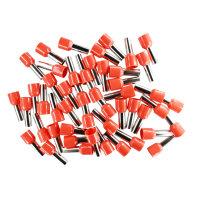 Aderendhülsen 10mm² (rot), isoliert, 50 Stück