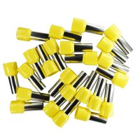 Aderendhülsen 25mm² (gelb), isoliert, 25...